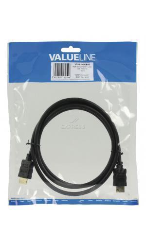 Telecommande VALUELINE Câble HDMI 1,5 m Noir