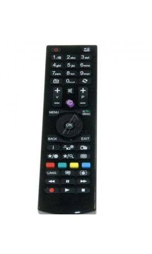 Télécommande VESTEL 30085964 RC4870RC 4870 BLACK NOBRAND ROH