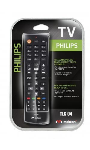 Remote MELICONI Dediée Philips with 0 buttons