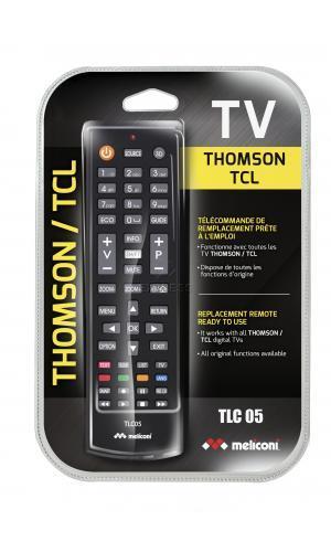 Telecommande MELICONI Dédiée THOMSON - TCL a 0 boutons