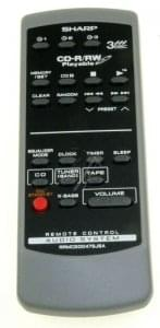 Handsender SHARP RRMCG0047SJSA