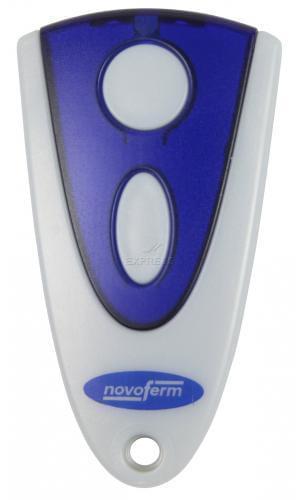 Novoferm novotron 502 max43 2 handsender funkfernbedienung - Comment programmer une telecommande de porte de garage ...