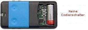 Sender CARDIN S435-TX2 BLUE mit 2 tasten
