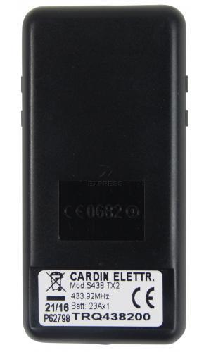 Sender CARDIN S438-TX2 mit 2 tasten