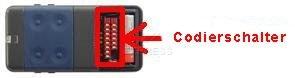 Sender CARDIN S438-TX4 mit 4 tasten