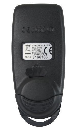 Sender CARDIN S449-QZ2 GREEN mit 2 tasten