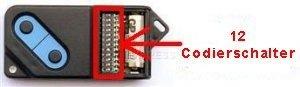 Sender FAAC 868DS-2 mit 2 tasten