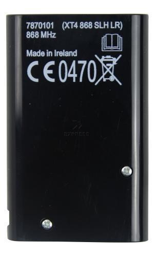 Sender FAAC XT4 868 SLH BLACK mit 4 tasten