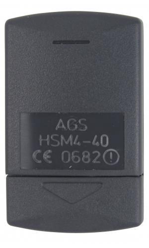 Sender HÖRMANN HSM4 40 MHZ mit 4 tasten