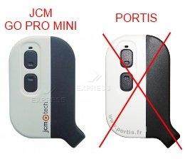 Sender JCM GO PRO MINI STANDARD mit 2 tasten