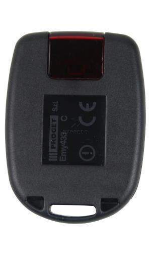 Sender PROGET EMY433 2C mit 2 tasten