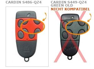 Sender CARDIN S486-QZ4 mit 4 tasten