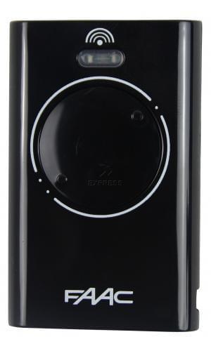 Remote FAAC XT2 868 SLH BLACK
