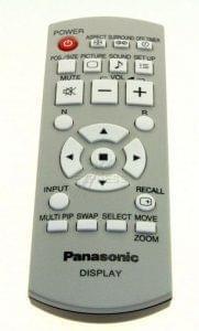 Remote PANASONIC N2QAYB000178