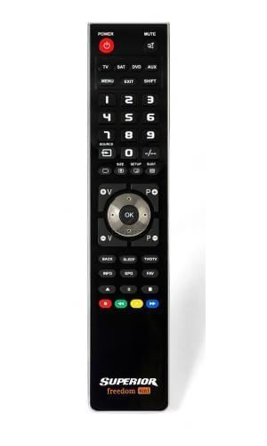 Remote SUPERIOR Freedom Micro-USB 4in1 BLACK