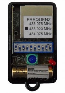 Remote ANSONIC SF 433-1 MINI GRUPPE C 433.92MHZ with 1 buttons