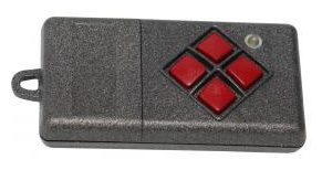 Remote DICKERT S10-433-A4L00 with 4 buttons