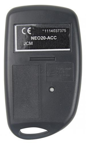 Remote JCM NEO20-ACC with 2 buttons