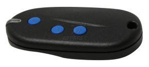 Remote SEAV BE-HAPPY-S3 with 3 buttons