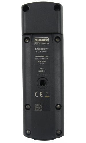 Remote SOMMER S10212-00001 with 15 buttons