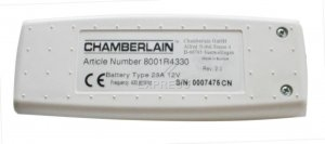 Remote CHAMBERLAIN RA4336 with 1 buttons
