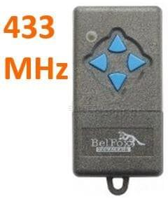Remote BELFOX 433 MHZ 4K