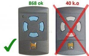 garador hsm4 868 mhz remote control gate opener. Black Bedroom Furniture Sets. Home Design Ideas
