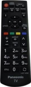 Remote PANASONIC N2QAYB000815