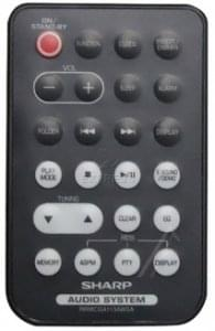 Remote SHARP RRMCGA113AWSA