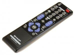 Remote SHARP RRMCGA297AWSA