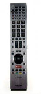 Remote SHARP RRMCGB075WJSA