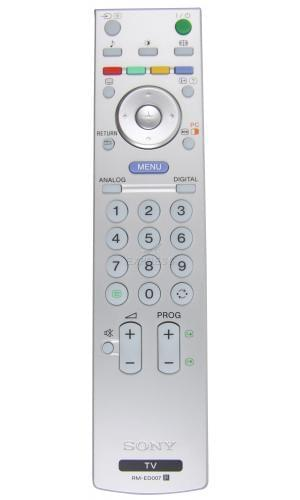 sony rm ed007 remote control tv. Black Bedroom Furniture Sets. Home Design Ideas