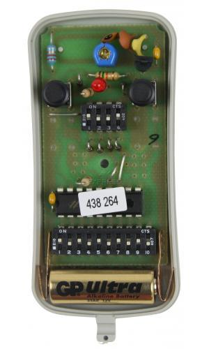 Remote ALLMATIC ASMX2 with 2 buttons