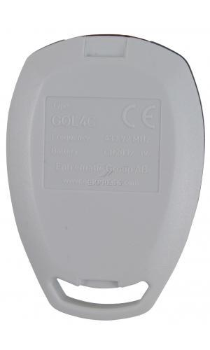 Remote DITEC GOL4 C with 4 buttons
