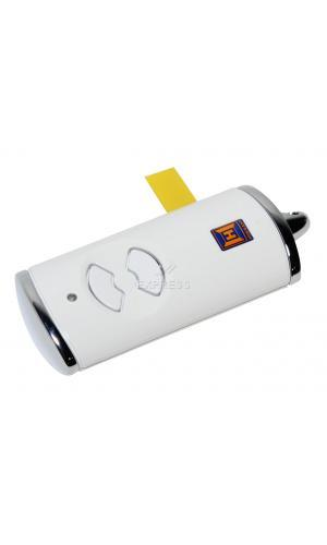 h rmann hse2 868 bs white remote control gate opener. Black Bedroom Furniture Sets. Home Design Ideas