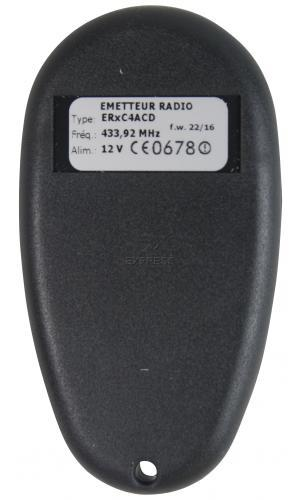 Remote PROEM ER2C4 ACD with 2 buttons