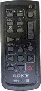Mando SONY RMT-DSLR1