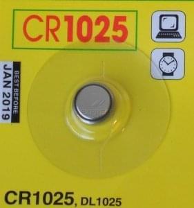 Pilas CR1025