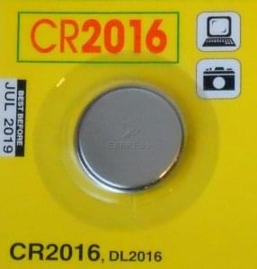 Pilas CR2016
