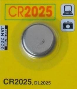 Pilas CR2025