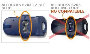 Mando ALLDUCKS 6203 12 BIT BLUE