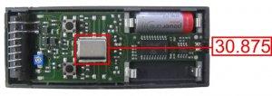 Mando CARDIN S48-TX4 30.875 MHZ 4