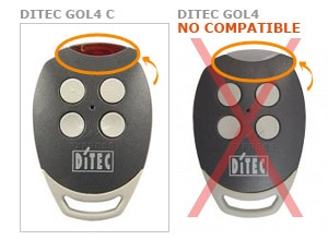 Mando DITEC GOL4 C