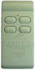Mando para automatismo  DELTRON S525-4 27.015 MHZ