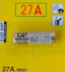 Pile 12V(27A)