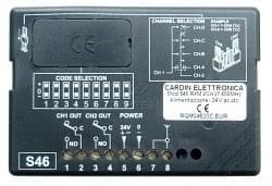 Recepteur CARDIN RECEPT S46 RXM 2CH 27.195MHZ