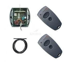 Telecommande MARANTEC KIT D343-433 - 2 D302-433