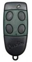 Telecommande CARDIN S449-QZ4-GREEN-OLD