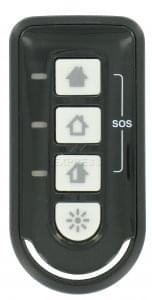 telecommande alarme honeywell tcb800m 1. Black Bedroom Furniture Sets. Home Design Ideas