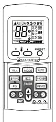 Télécommande TOSHIBA 43T69309